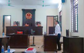 """Luật sư tham gia bảo vệ quyền và lợi ích hợp pháp của thân chủ trong vụ án """"Khởi kiện quyết định hành chính"""" tại Tòa án nhân dân thành phố Vĩnh Yên"""
