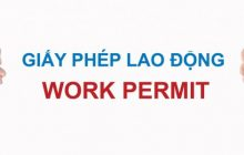 Thủ tục đề nghị cấp giấy phép lao động